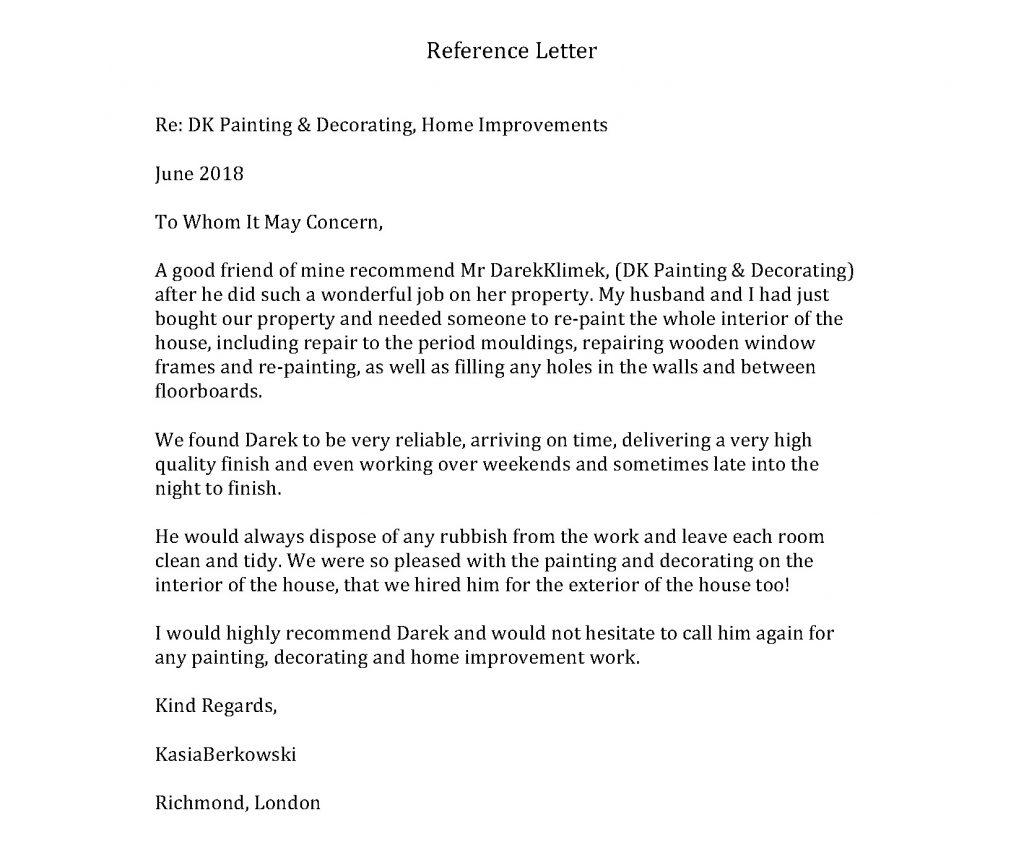 Darek - Reference Letter from KasiaBerkowski
